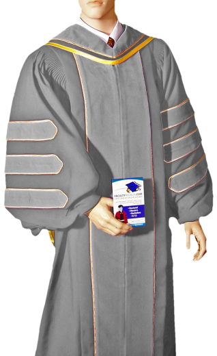 CUSTOM doctoral robes, academic hoods and graduation gowns