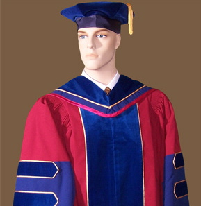 University of Pennsylvania doctoral gown
