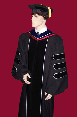 graduation gown for phd