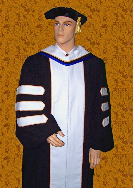 doctoral regalia for Doctor of Letters