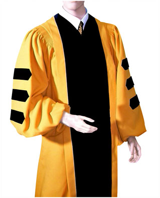 Jphns Hopkins Doctoral Graduation Gown
