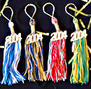 graduation gifts key chain tassels